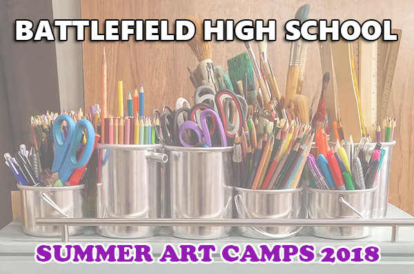 summer art camps 2018